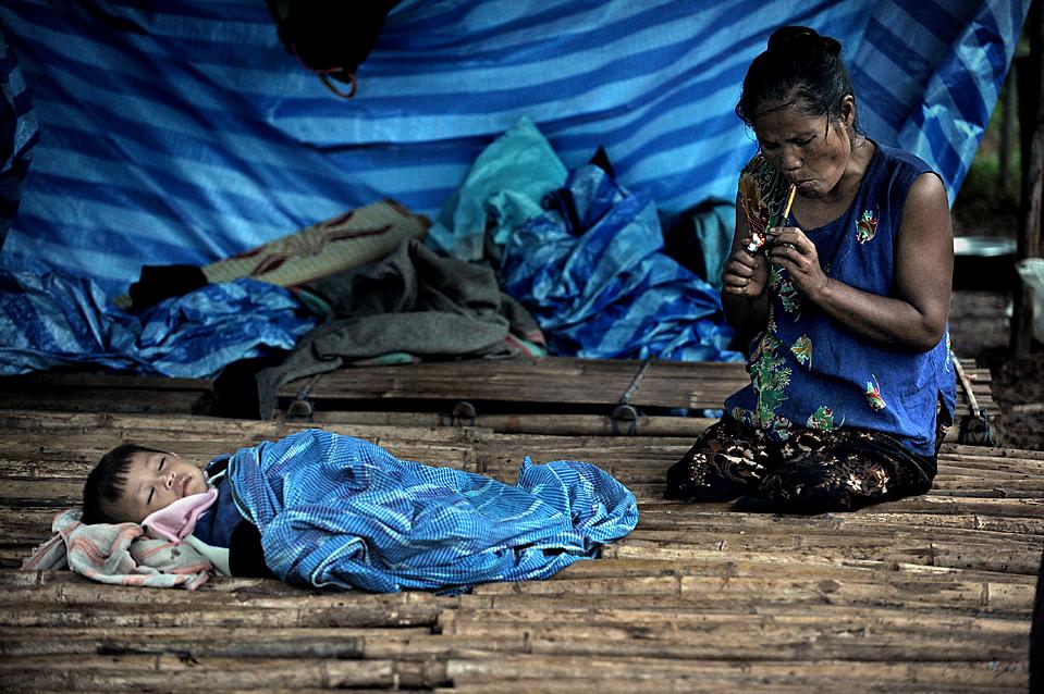THAILAND-MYANMAR-REFUGEE