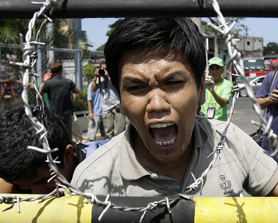 APTOPIX Philippines Oil Protest