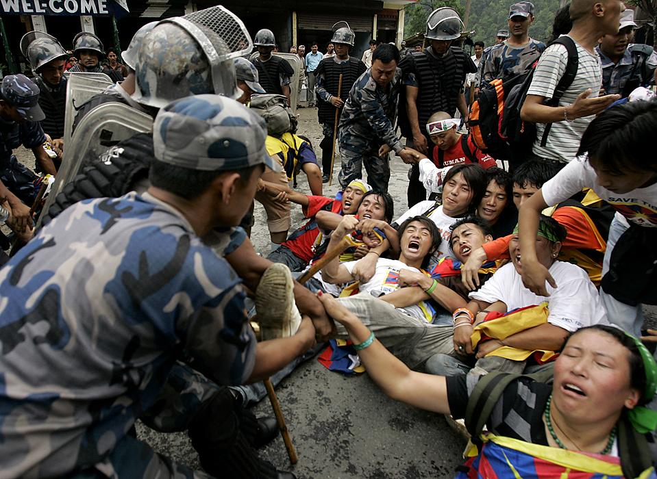refugiados tibetanos