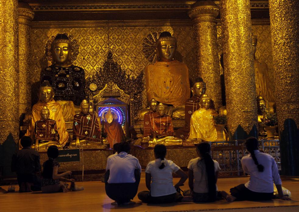 budistas birmanos