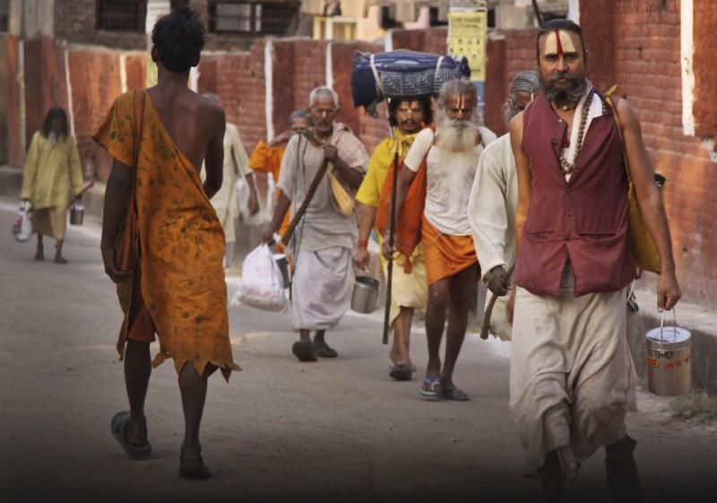 Паломничество индуистов в пещеру Амарнатх