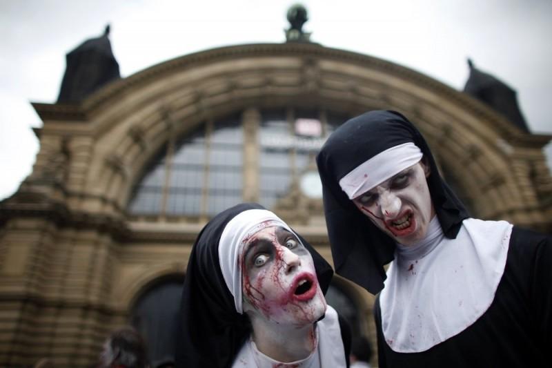 Зомби-парад во Франкфурте