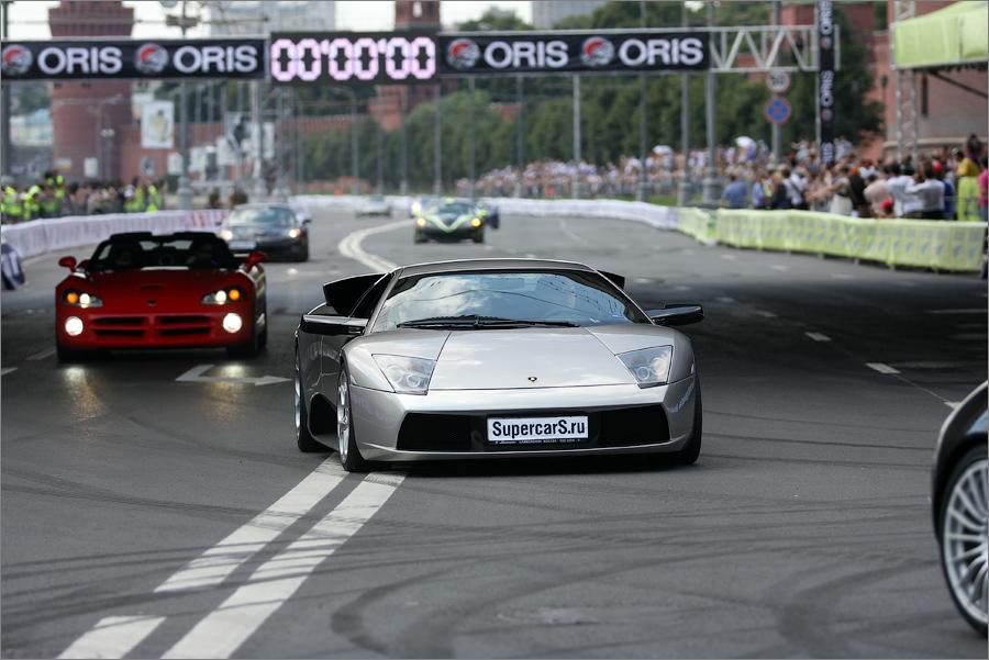 "Красивая белая ""лошадка"" - Lamborghini LP640"