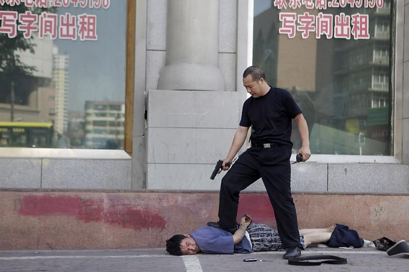 CHINA UNREST