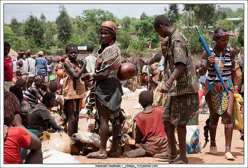 Рынок Key Afer в Эфиопии
