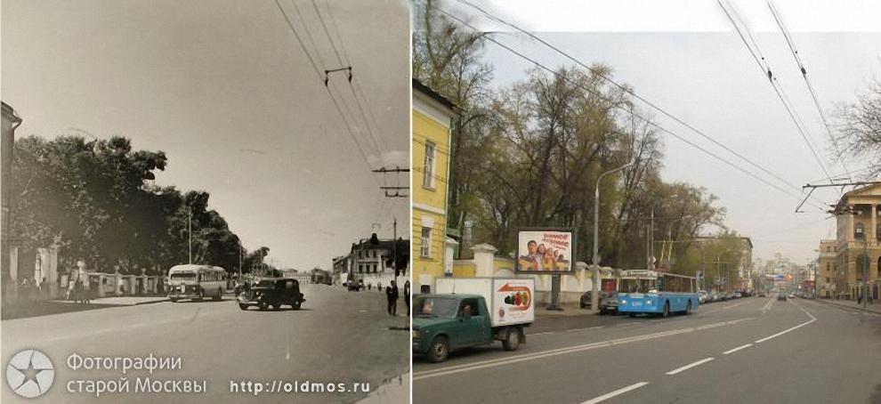 10) Петровка от бульвара к Каретному ряду. 1952-2008 гг.