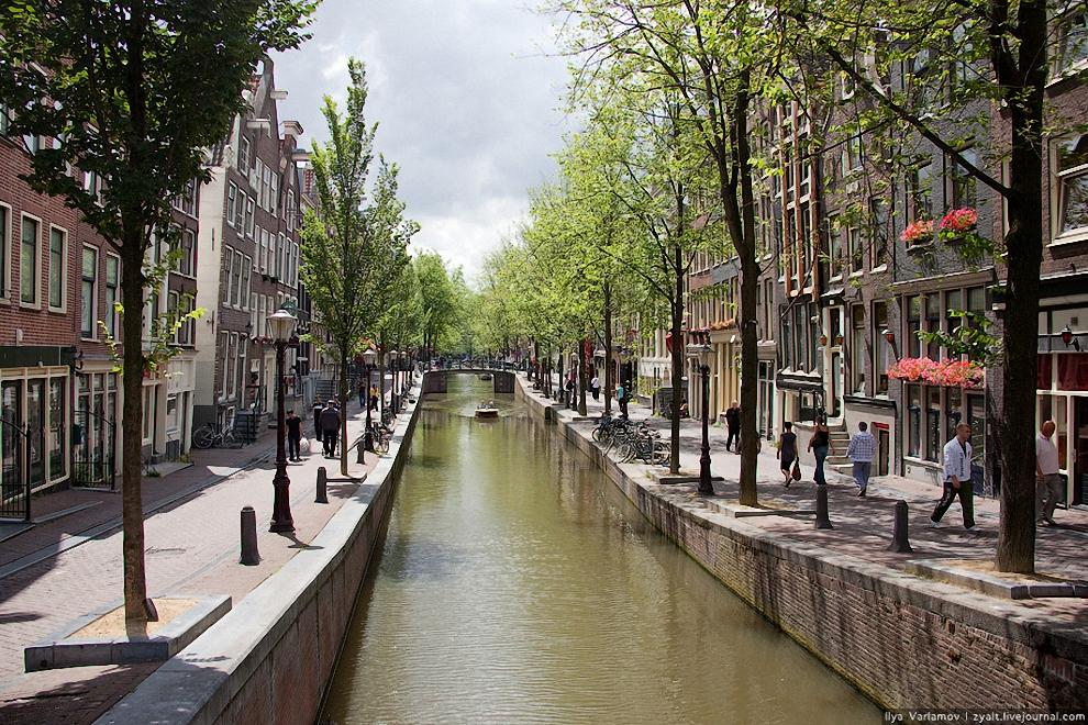 амстердам красные фонари фото проституток