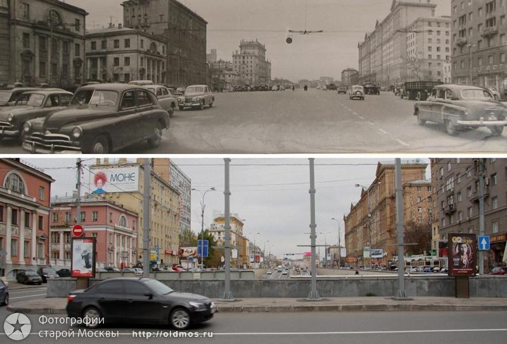 12) Новинский бульвар. 1957-2008 гг.
