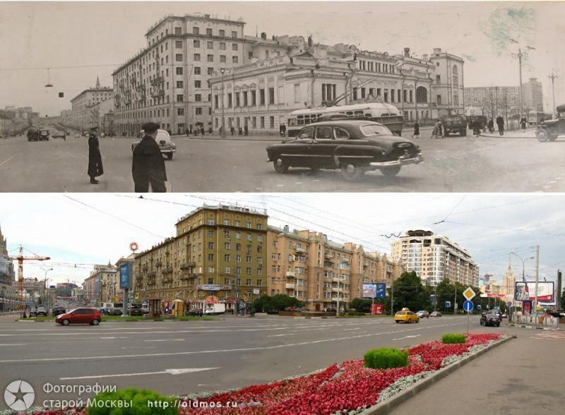 Москва: было-стало