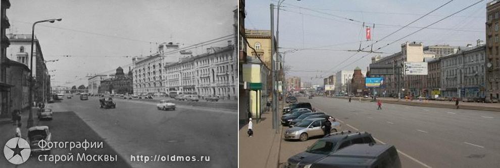 15) Новослободская ул. 1968-2009 гг.