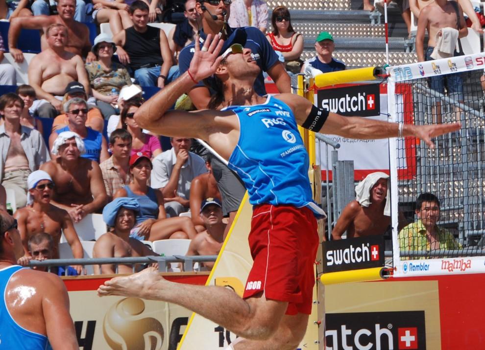 Супер-классный прыжок Игоря Колодинского.