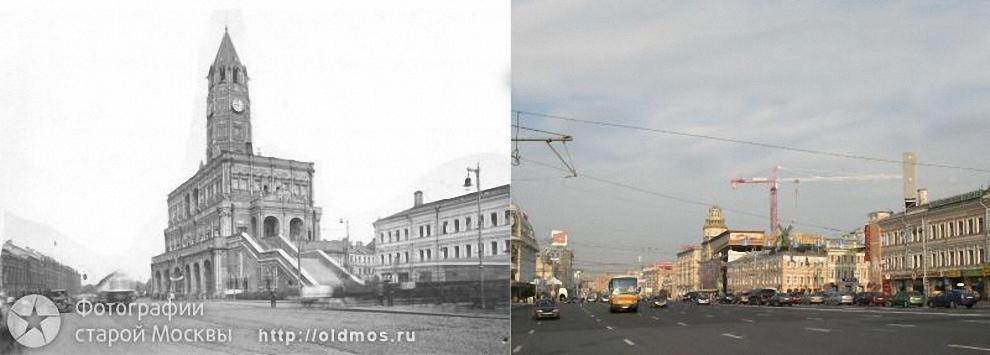 21) Сухарева башня. 1929 год.