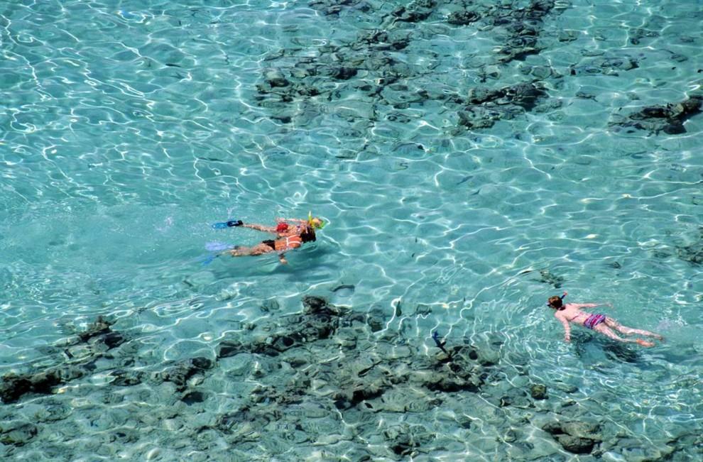 22) В Красном море обитает более тысячи видов беспозвоночных и 200 видов различных кораллов, кроме того, оно является самым северным тропическим морем. Красное море – излюбленное место дайверов и любителей поплавать с дыхательной трубкой. (Chicurel Arnaud/Hemis.fr)