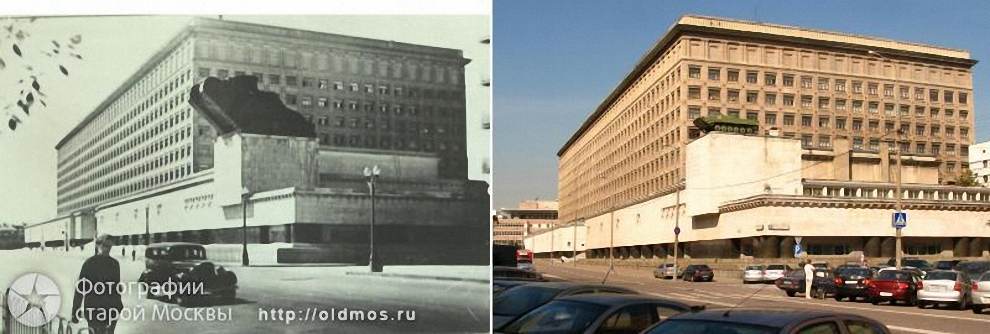 23) Девичье поле Академия Фрунзе. 1940 год.