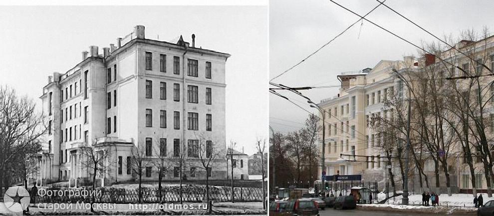 1) Екатерининская площадь. Учебное здание. 1910-2008 гг