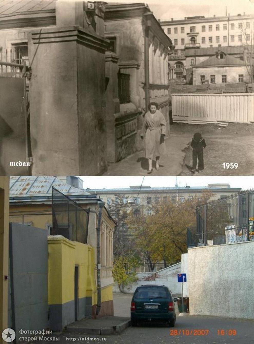 25) Таганка. 4-й Котельнический переулок. 1959-2007 гг.