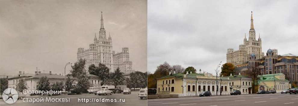 27) Новинский бульвар. 1968 год.
