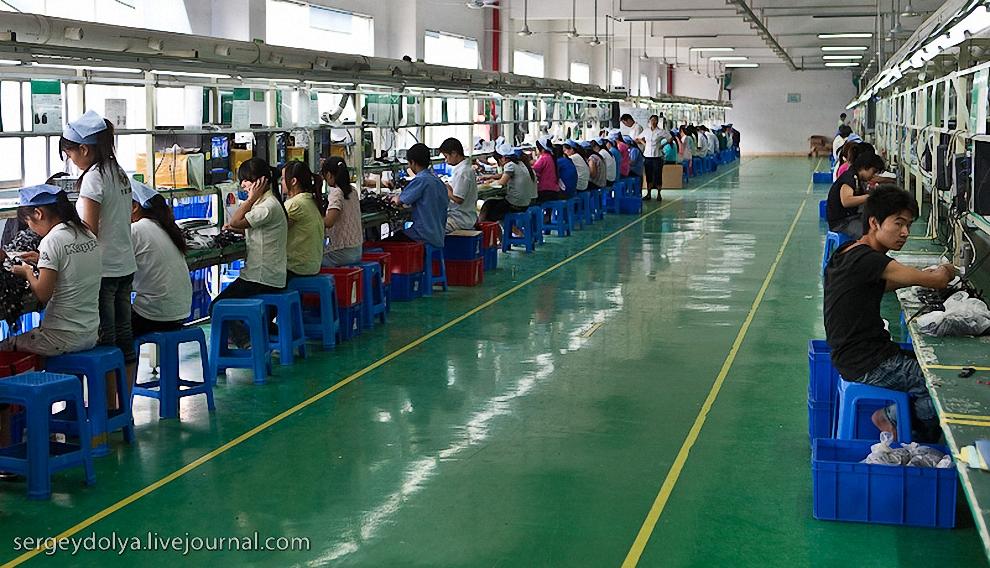 Сам завод значительно больше и чище предыдущих двух.