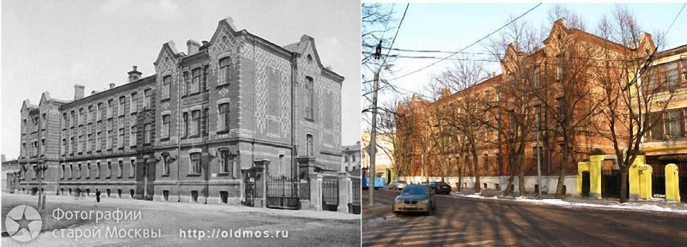 2) Миусская площадь. Училище имени Александра II.
