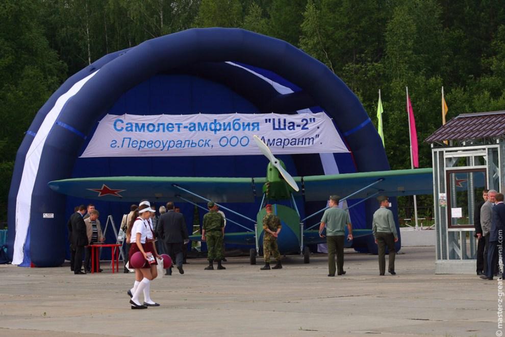 36) Самолет-Амфибия ША-2.