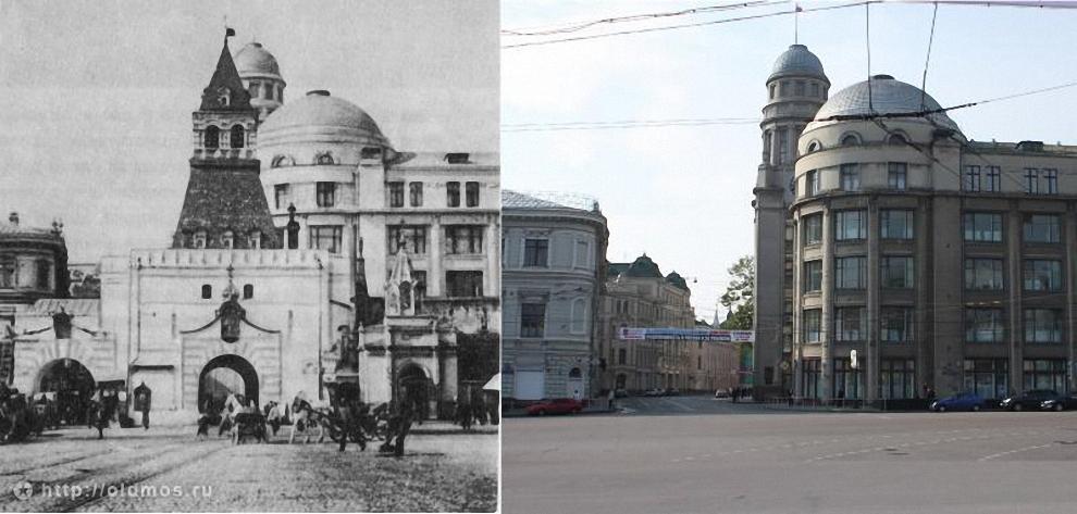 41) Ильинские ворота. 1925 год.