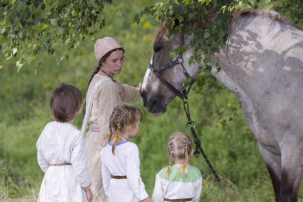 Конь – помощник в работе и в ратном деле
