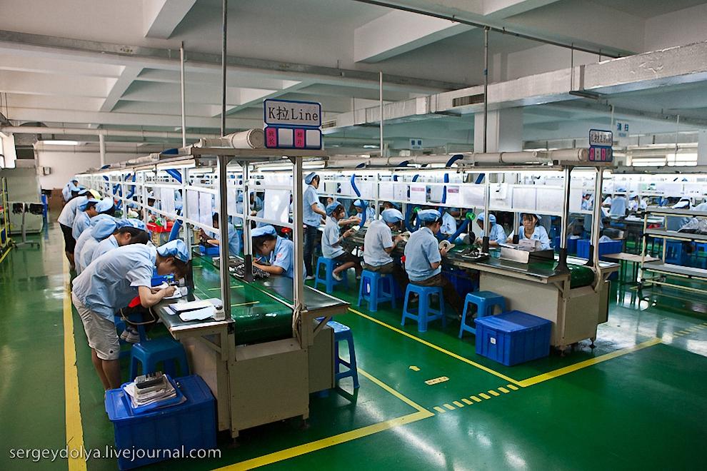 5) Некоторые рабочие работают стоя, им так удобнее.