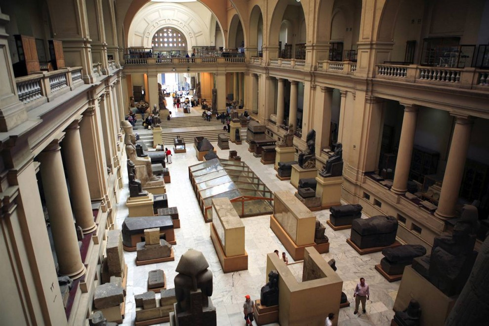 5) Египетский музей, расположенный в Каире, в котором собрана самая большая коллекция египетских древностей. (Gardel Bertrand/Hemis.fr)