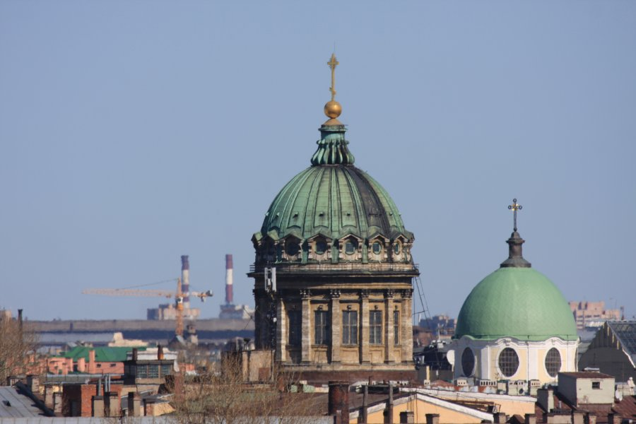 9) Купол Казанского собора