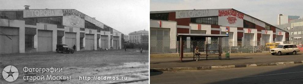 6) Бахметьевский гараж архитектора Мельникова. 1937-2008 гг.