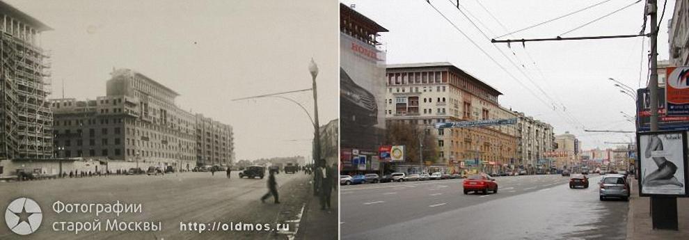 8) Земляной Вал, дома № 25-27. 1939-2008 гг.