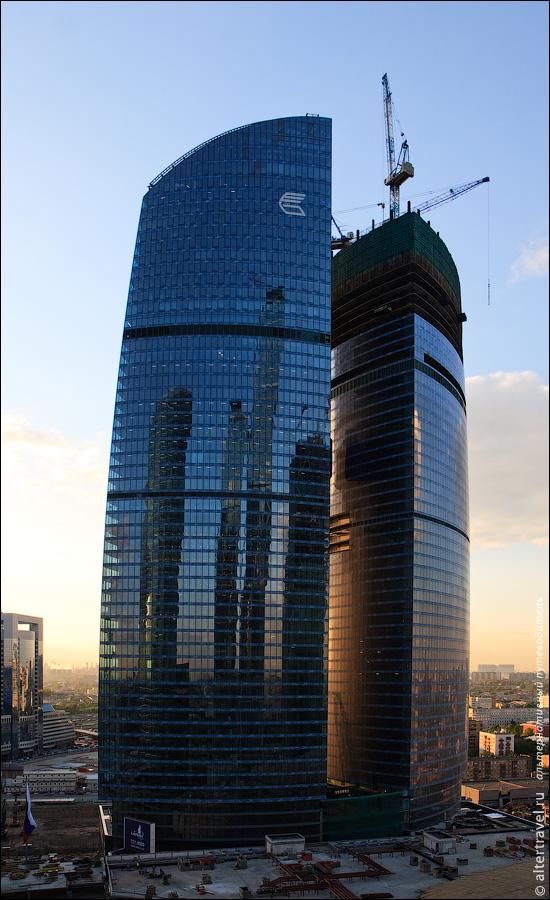 20) Башня Федерация.