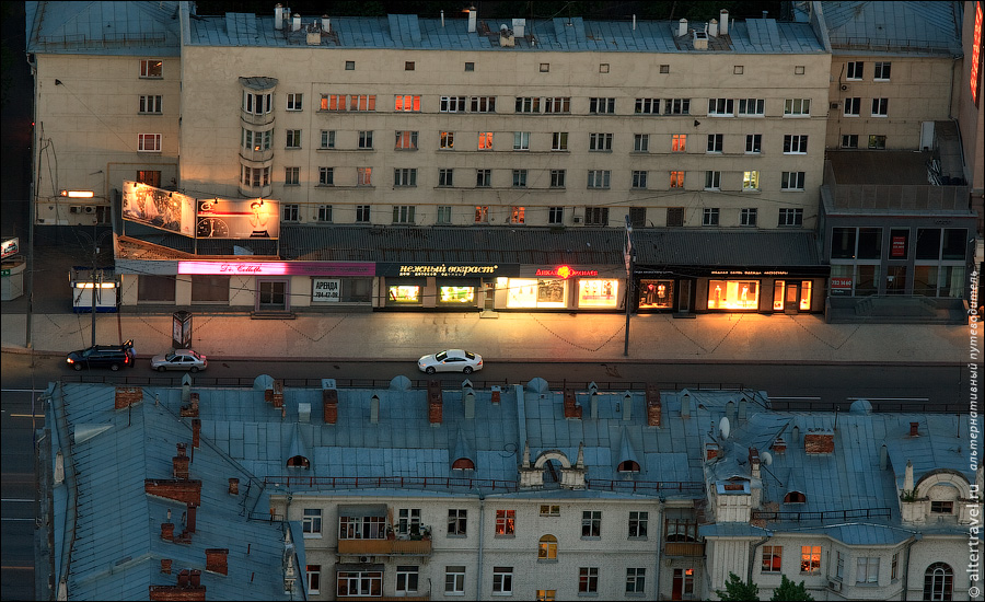 17) Бутики в 31-м доме на Кутузовском проспекте.