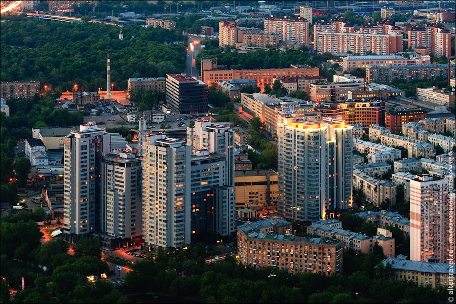 21) Вид на Москву с 77 этажа