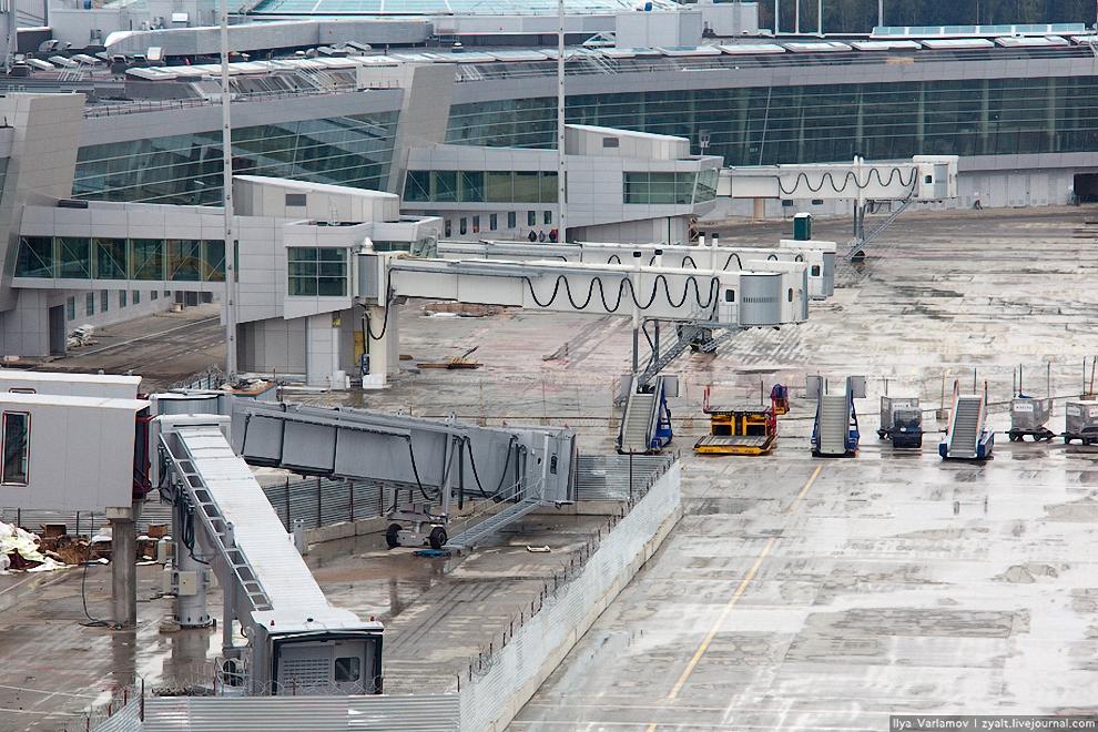 4) Осталось убрать заборчики и можно принимать пассажиров.