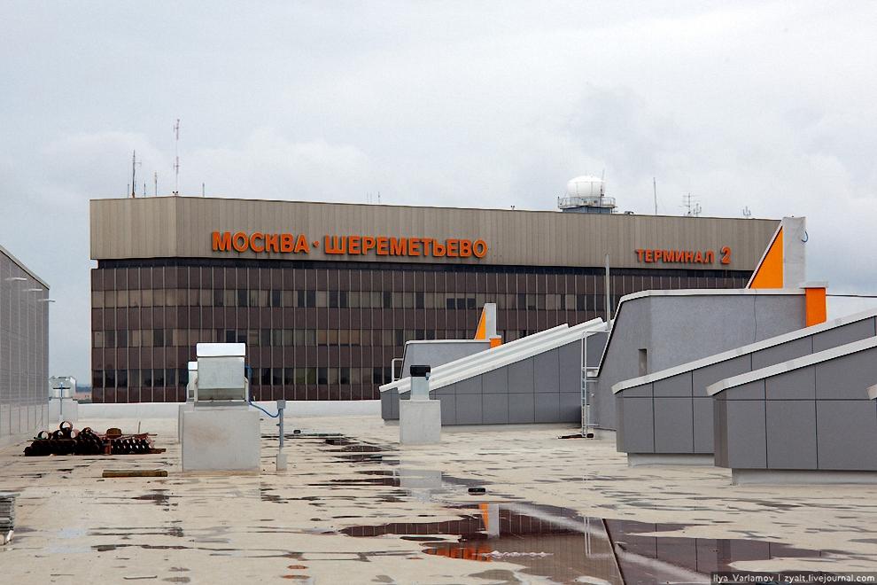 7) Старое здание Шереметьево-2 скоро переименуют в Терминал F.