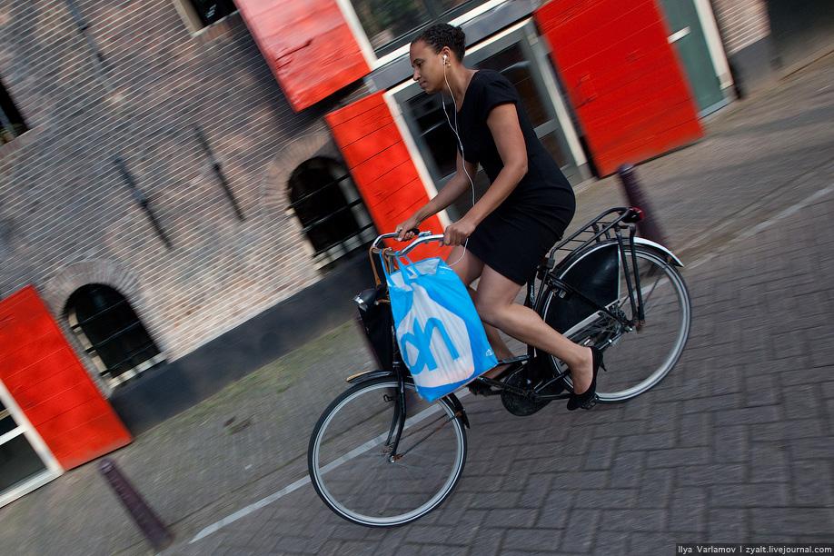10) Все велосипеды предельно простые, чтобы не искушать воров.