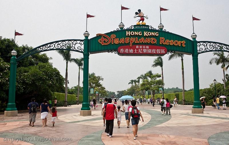 Гонконгский Диснейленд