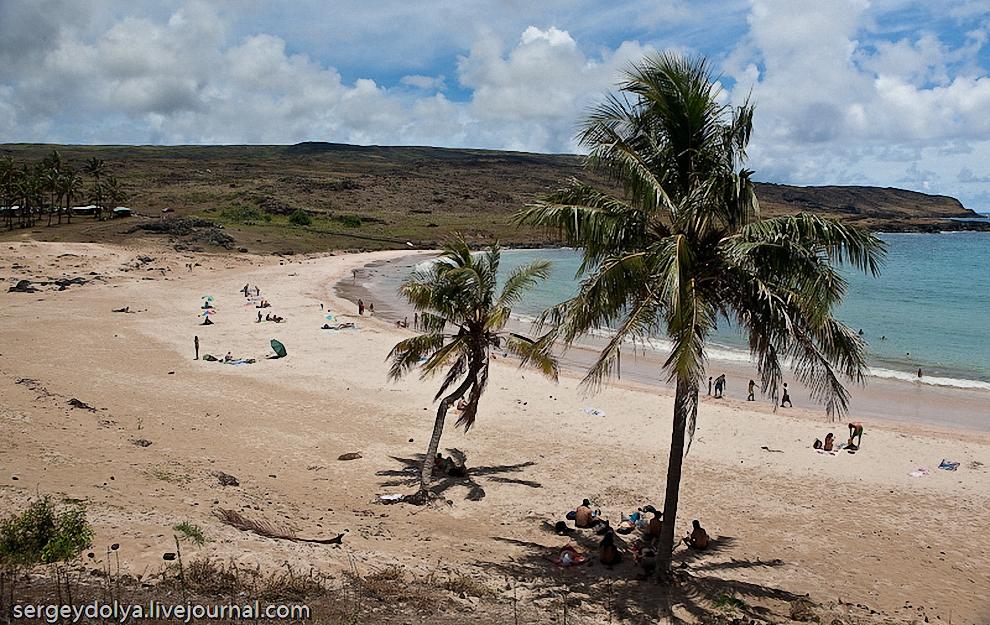 14) Побережья Тихого океана там очень живописные.
