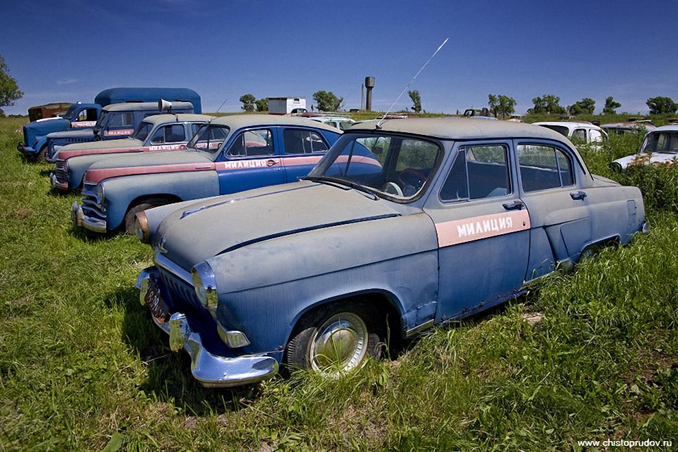 16)  ГАЗ М-21, легендарная «Волга».