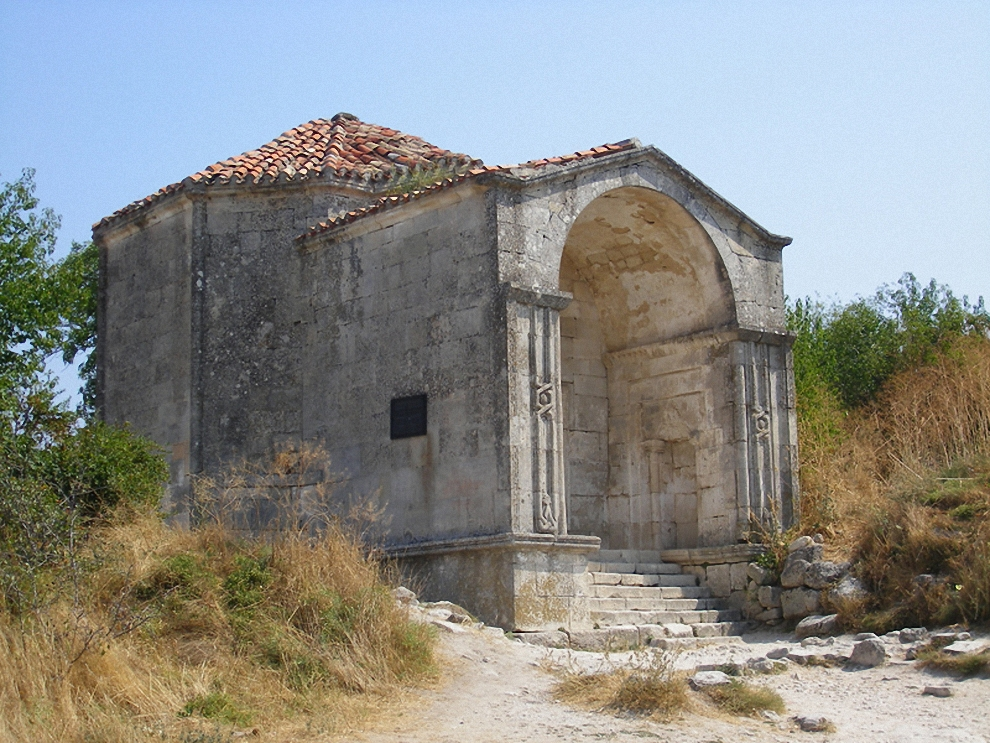 20) Вот и мавзолей дочери золотоордынского хана Тохтамыша Джаныке-ханым 1437 года постройки.