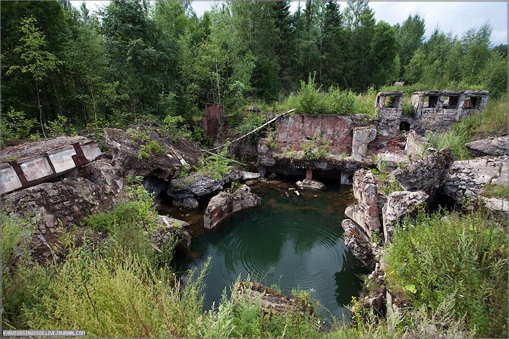 22) Ещё одна шахта.