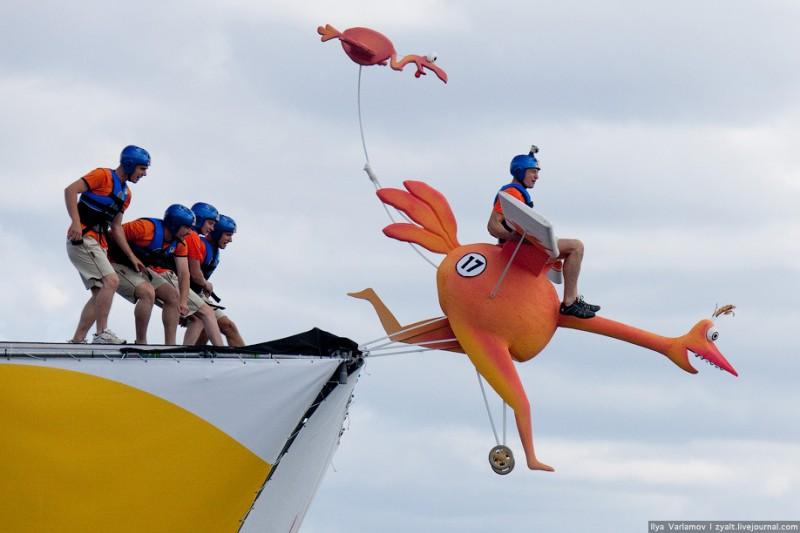 Red Bull Flugtag в Москве