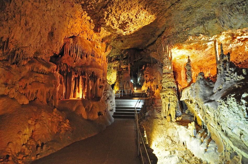 Тигровый ход. Эта галерея получила свое название от останков тигра, найденного в пещере. Однако после тщательного изучения стало известно, что это на самом деле, по одним источникам, лев, по другим (нашего экскурсовода) - медведь.