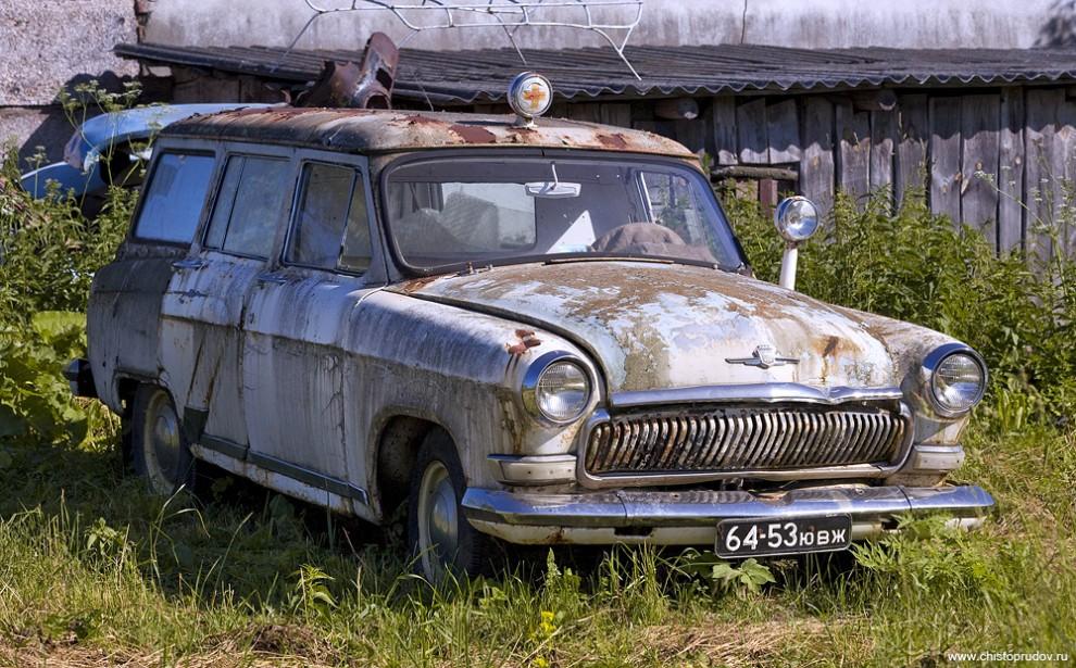 41) Карета скорой помощи на базе универсала «ГАЗ-22».