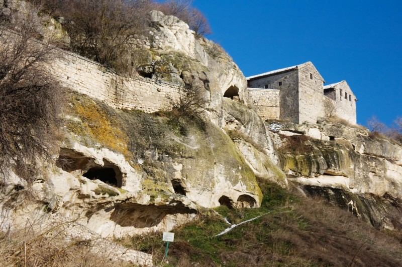 Чуфут-Кале - средневековый город-крепость