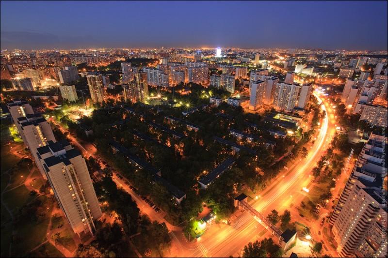 Обзорные виды Юго-Западного округа Москвы