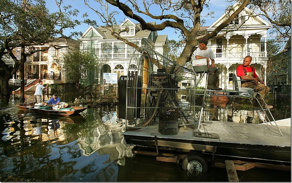 Новый Орлеан: тогда и сейчас