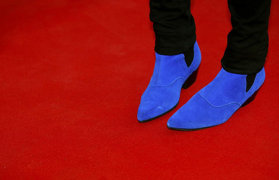 3) Юморист Ноэль Филдинг прибыл на церемонию вручения премии Mercury Music Awards в Лондоне. (Andrew Winning/Reuters)
