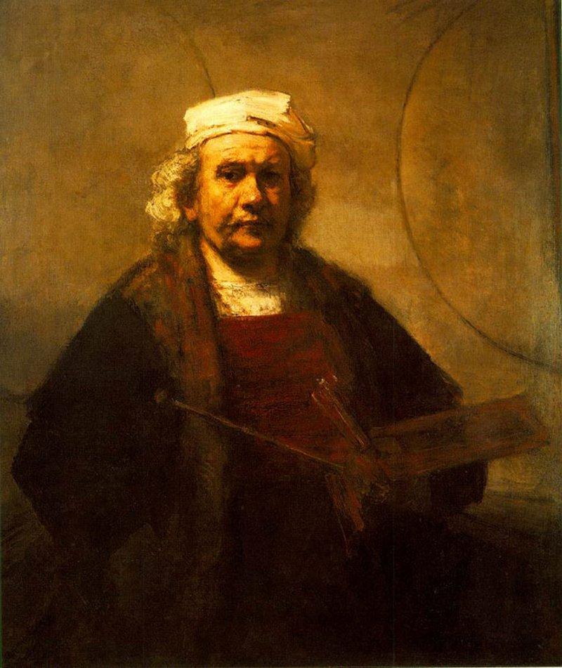 11) Рембрандт. Харменс ван Рейн Рембрандт, нам более известный как просто Рембрандт. Этот художник считается одним из главных в голландской культуре и одним из важнейших в истории Европы. Дата: 1661. Художник: Рембрандт